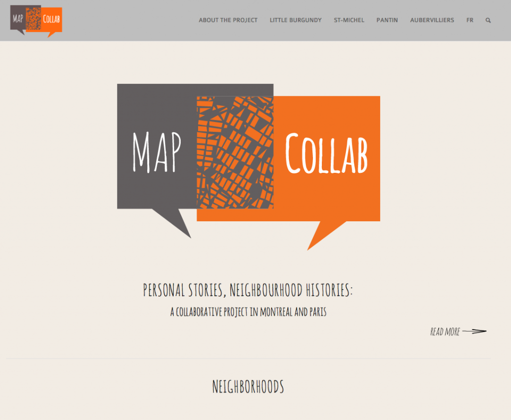 MapCollab website